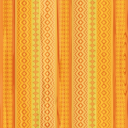 Striped ornamental pattern in ethnic style Vector