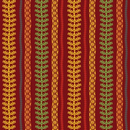 primeval: Abstract textile ornamental pattern