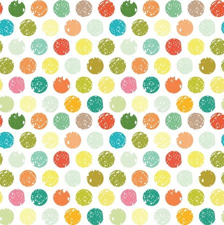 Points colorés abstrait, seamless