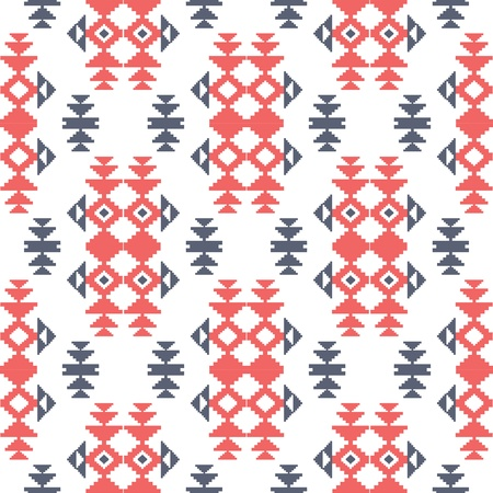 Geometric pattern in ethnic style Illustration
