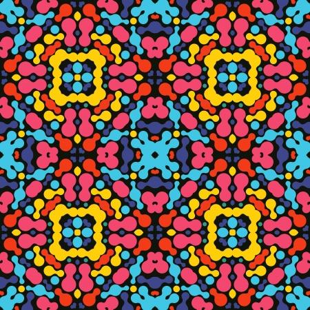 kaleidoscopic: Abstract colorful kaleidoscopic background Illustration