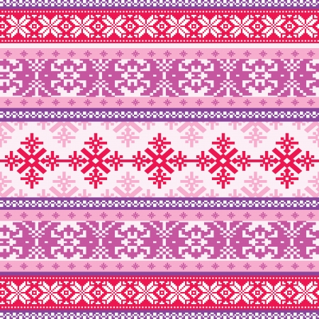 Knitted background seamless pattern
