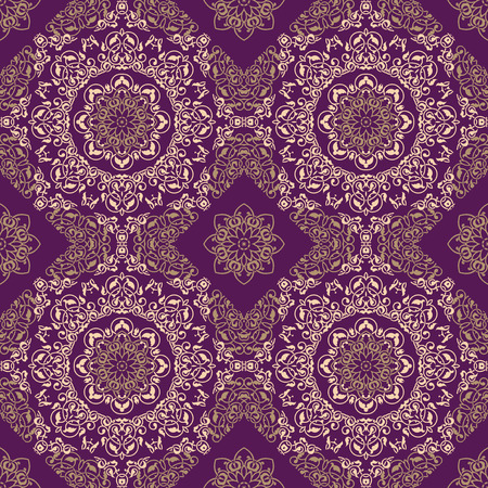 batik motif: Ornamental pattern in ethnic style Illustration