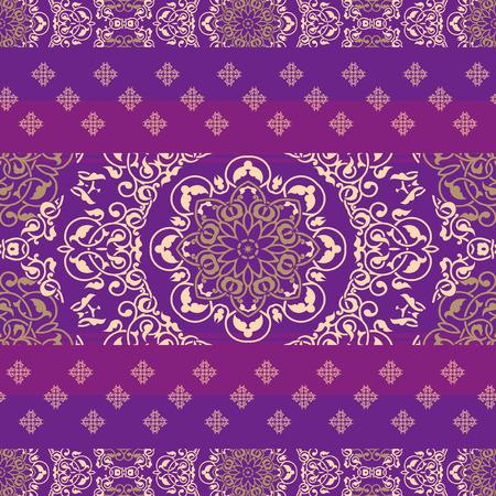 bollywood: Indian ornamental fabric ethnic pattern