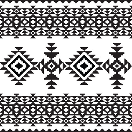 navajo: Aztec mexican seamless pattern