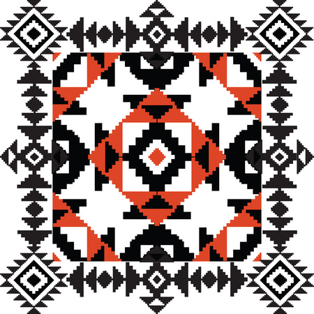 african tribe: Ethnic tribal ornamental background