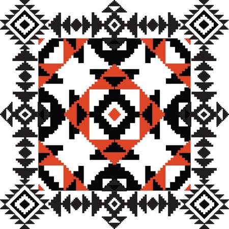 ornamental background: Ethnic tribal ornamental background
