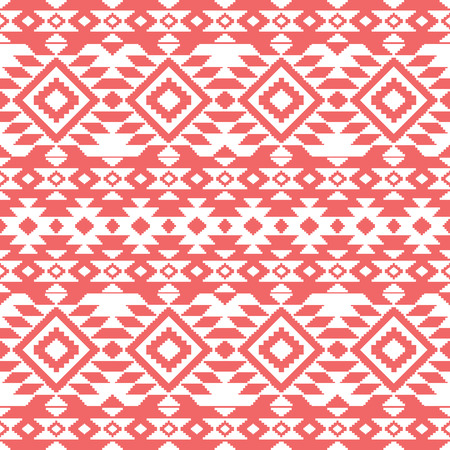 Abstract aztec ornamental seamless pattern Vector