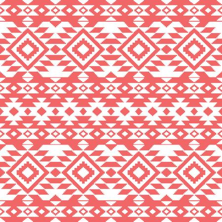 navajo: Abstract aztec ornamental seamless pattern