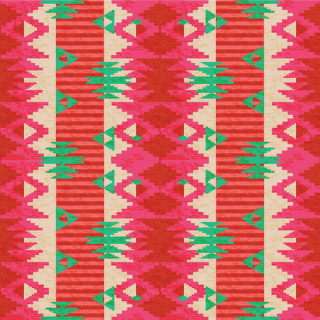 Abstract ornamental tribal seamless pattern Vector