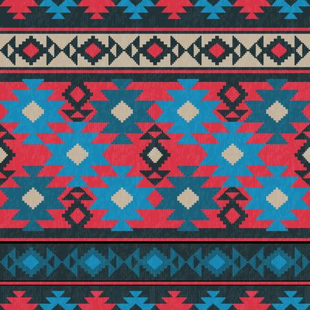 Ethnic carpet ornamental seamless pattern