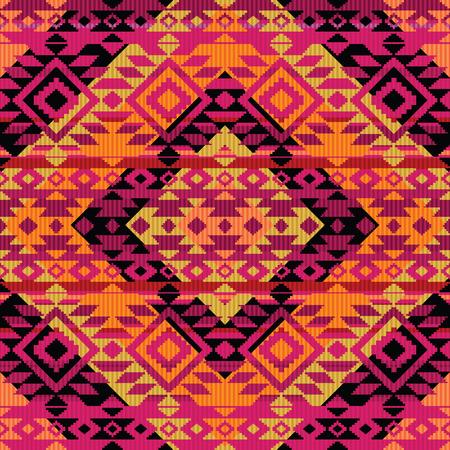 navajo: Ethnic ornamental pattern