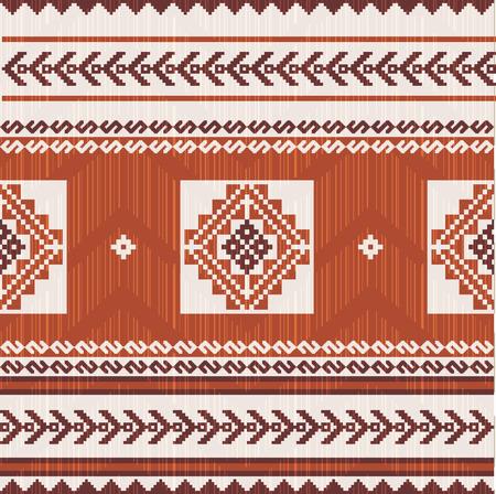 Motif ethnique de tissu