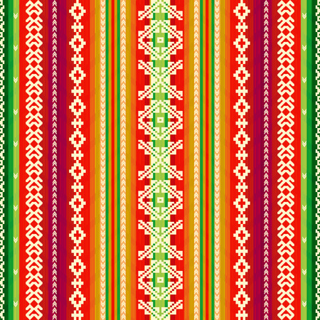 Ethnic fabric pattern Vectores