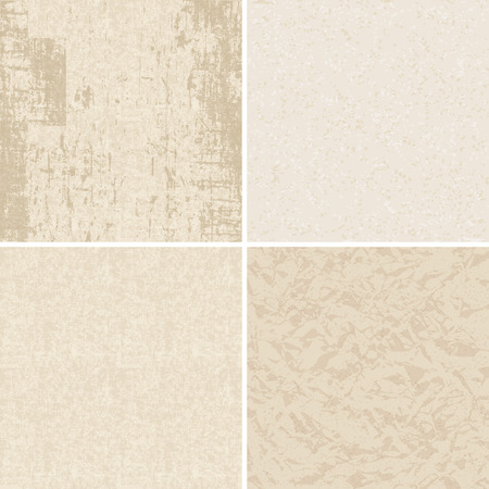 wrinkled paper: Set of old textured paper backgrounds