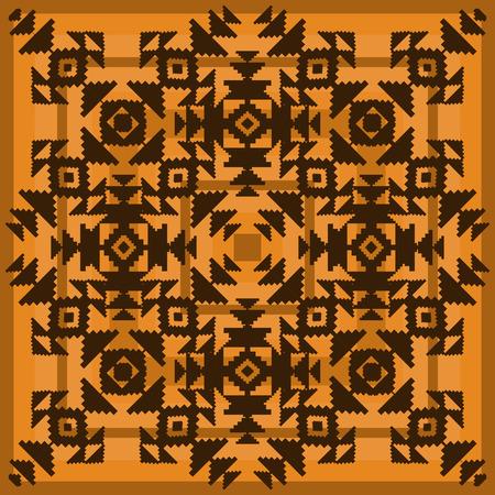 ornamental background: Tribal ornamental background