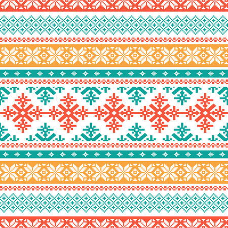 isle: Traditional knitted background