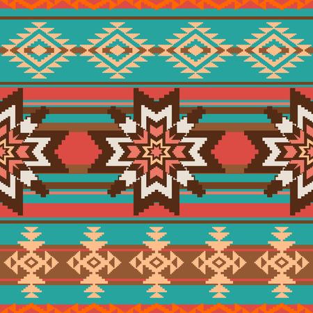 민족 장식 원활한 패턴