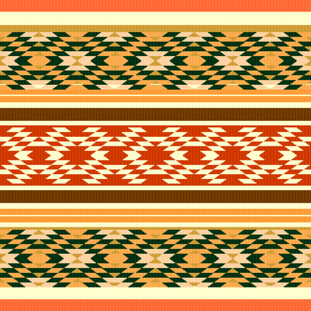 textil: Absract ethnic style textil pattern Illustration
