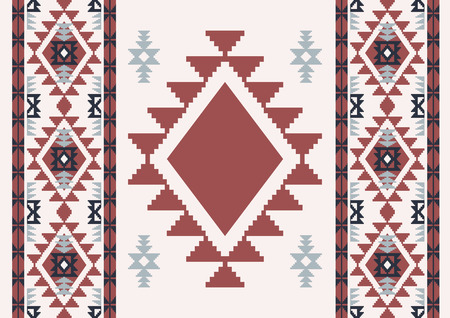 Abstract ethnic background. Navajo design