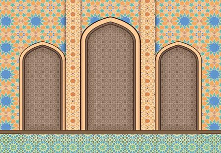 architecture: Elements of Islamic architecture, ornamental background