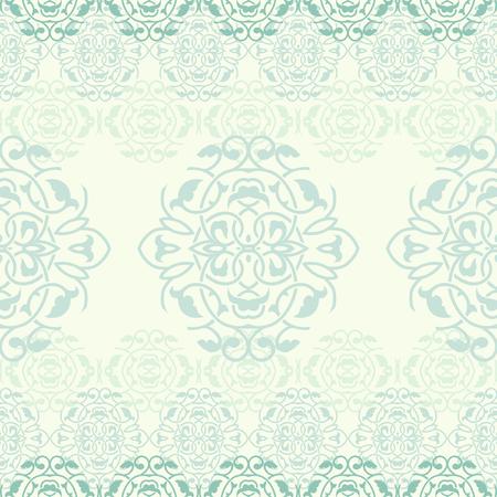 Ornamental background, vector seamless pattern