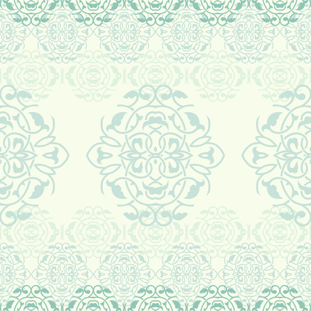 Ornamental background, vector seamless pattern Illustration