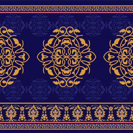 seamless ornementale dans le style oriental