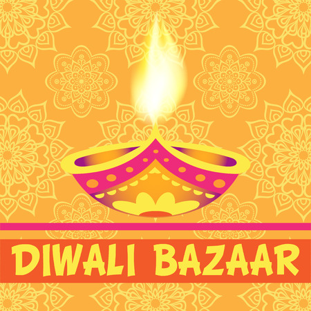 Divali bazaar background