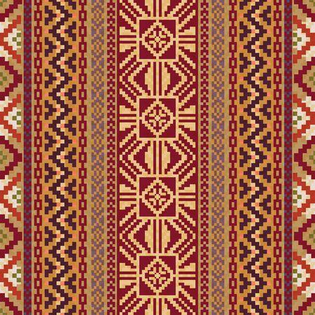Abstract ethnic pattern Vector Illustration
