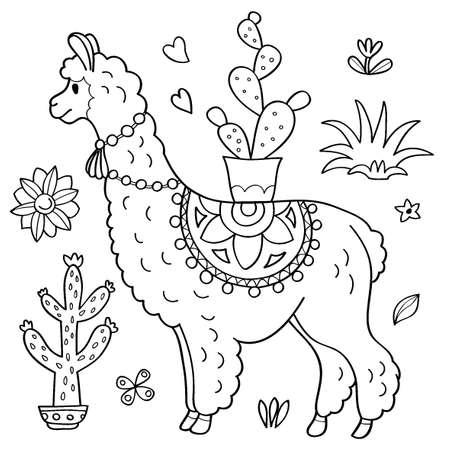 LLama and cacti