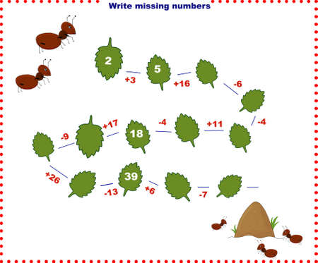 Math educational games for children.