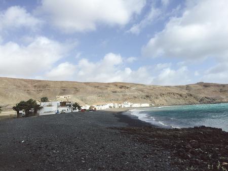 Bay of Pozo Negro, Fuerteventura, Canary Islands
