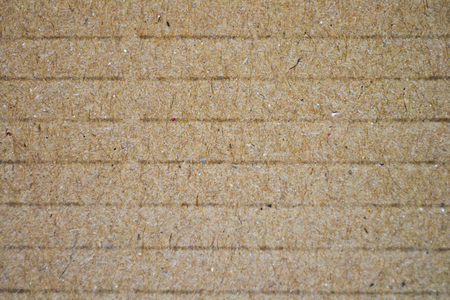 Striped cardboard texture or background