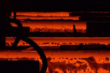 Steel factory Фото со стока