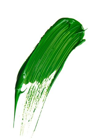 green paint tray isolated over white Stock Photo - 5888696