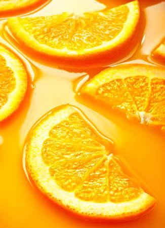 Hi res orange slices background photo