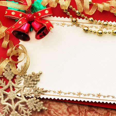 Christmas decoration. vintage background with space for text or image. Stock Photo - 9039877