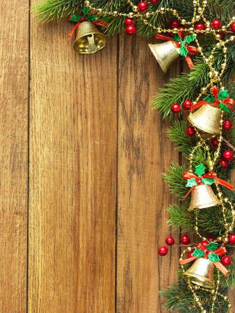 Christmas fir tree and christmas decoration Stock Photo - 9270635