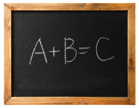 black board: Yes Or No on black chalk board isolated on white