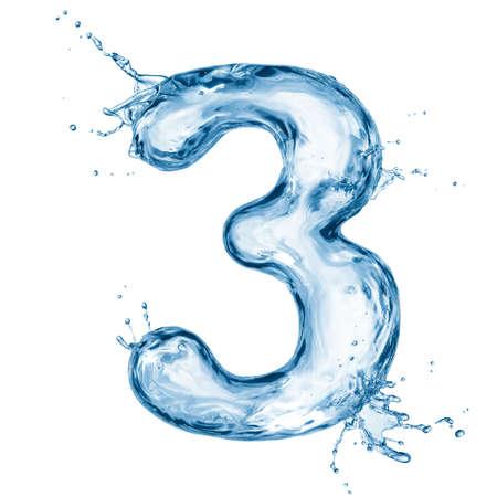 aqua: One letter of water alphabet