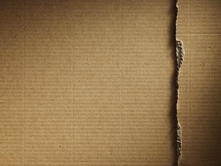 Carton ondulé comme arrière-plan