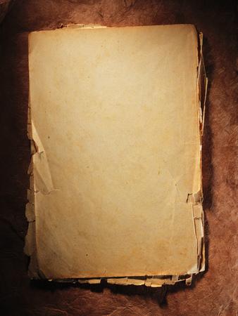 very old paper Reklamní fotografie