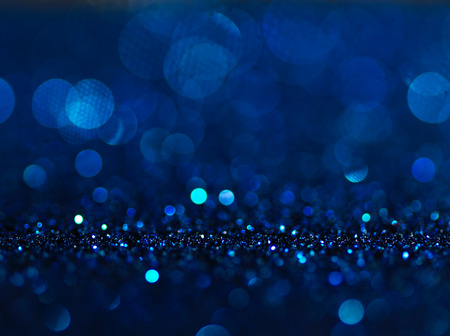 Defocused abstract blue lights background . bokeh lights. concept. Stok Fotoğraf - 46741658