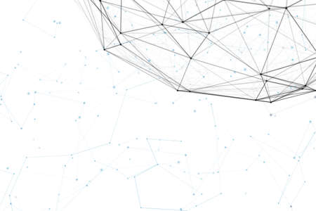 オリジナルの有機モーションと背景、ファンタジー抽象的な技術