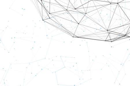 판타지 추상 기술과 원래의 유기 모션 엔지니어링 배경