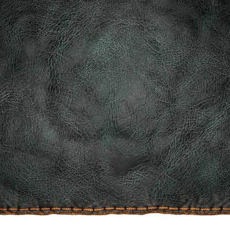 Background made of squared leather. 3D rendering Stockfoto