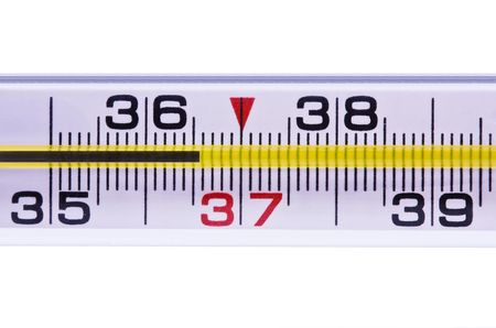 Thermometer for measurement of a body temperature 36-6 photo