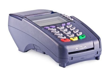 The payment terminal  for payment of purchases Stock Photo - 5991282