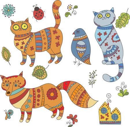 Verzameling van vector dieren voor ontwerp
